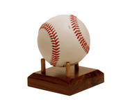 Solid Walnut Baseball Stand / Holder