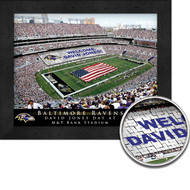 Baltimore Ravens Stadium Print - Personalized