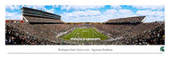 Michigan State University Panorama Print #3 (End Zone) - Unframed