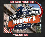 Chicago Bears Hangout Print - Personalized