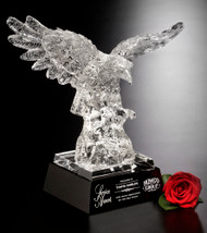 Majestic Eagle Crystal Award