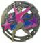 Gymnastics M3XL Medal | Engraved Gymnast Medallion | 2.75 Inch Wide