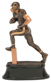 Football Power Forward Trophy | Football Runner Award | 8, 10 and 12 Inch Tall