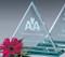 "Princeton Triangle Crystal Award - Medium 9"""
