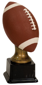 Full Size Color Football Resin Trophy