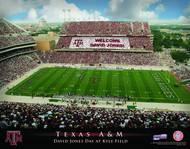 Texas A&M Aggies Stadium Print - Personalized