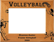 Volleyball Female Picture Frame - Personalized