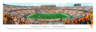 University of Tennessee Panorama Print #3 (50 Yard - Checkerboard) - Unframed