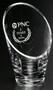 "Westcott Vase Crystal Corporate Award / Business Gift - 3 Sizes  - Small 8"""