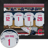 Cleveland Indians Locker Room Print - Personalized