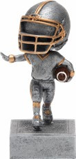 Football Bobblehead Trophy | Bobble Head Football Award | 5.5 Inch Tall
