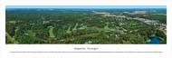 Augusta Skyline Panorama Print #2 - Unframed
