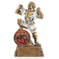 """Chili Cook-Off Monster Trophy / Chili Beast Award - 6.75"""""""