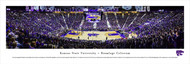 Kansas State University Panorama Print #4 (Basketball) - Unframed