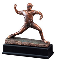 Baseball Pitcher Gallery Sculpture Trophy
