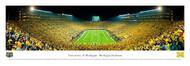 University of Michigan Panorama Print #4 (Under Lights I / End Zone) - Unframed