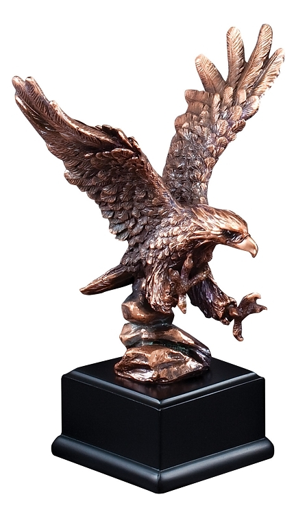 Eagle Bronze Resin Sculpture Trophy