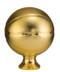 Basketball Full Size Resin Trophy - Gold Topper