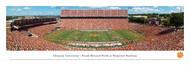 Clemson University Panorama Print #1 (50 Yard - Day) - Unframed