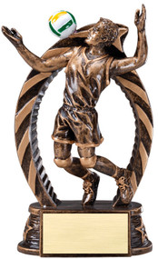 Volleyball Running Star Series Trophy – Male