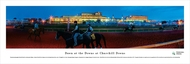Dawn at Churchill Downs Panorama Print #4 - Unframed