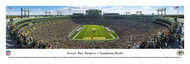 Green Bay Packers Panorama Print #4 (End Zone - Day) - Unframed