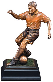 Soccer Gallery Sculpture Figure Trophy | Fútbol Award