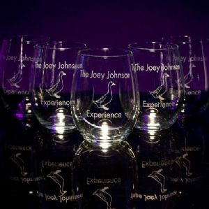 Stemless Wine Glasses - Personalized