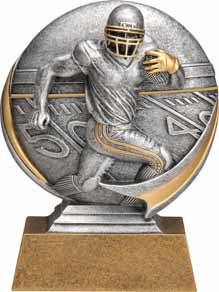 Football Motion Extreme 3D Trophy | Gridiron Award | 5 Inch Tall