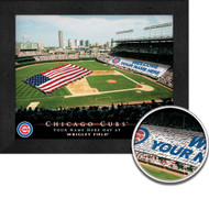 Chicago Cubs Stadium Print - Personalized