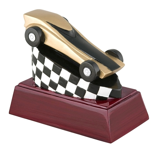 Pinewood Derby Resin Trophy