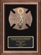 Firefighter American Tribute Framed Plaque - Large