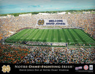Notre Dame Stadium Print - Personalized