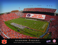 Auburn Tigers Stadium Print - Personalized