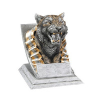 Tiger Spirit Mascot Trophy