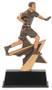 Flag Football Power Star Trophy | Flag Football Award | 7 Inch Tall