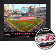 Atlanta Braves Stadium Print - Personalized