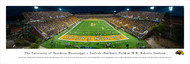 University of Southern Mississippi Panorama Print #1 (End Zone) - Unframed