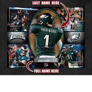 Philadelphia Eagles Action Collage Print - Personalized