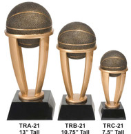 Basketball Tower Trophy - 3 Sizes