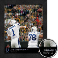 Indianapolis Colts QB Hero Print - Personalized