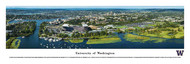 University of Washington Panorama Print #5 (Aerial) - Unframed