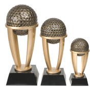 Golf Tower Trophy - 3 Sizes