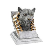 Cougar Spirit Mascot Trophy