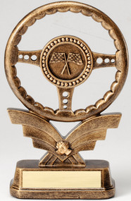 Racing Steering Wheel Trophy