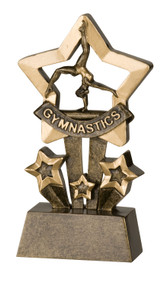 "Gymnastics Star Series Trophy - 4.5"" CLEARANCE"