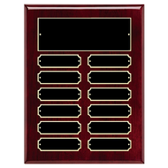 Perpetual Plaque - Rosewood Piano Finish