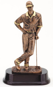 Bronze Male Golf Trophy 1
