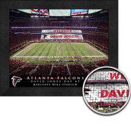 Atlanta Falcons Stadium Print - Personalized