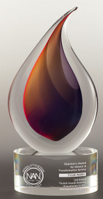 Flare Corporate Award - Engraved